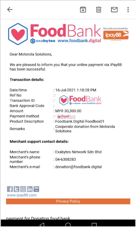 Pledge by Motorola